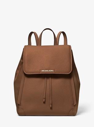 MICHAEL Michael Kors Ginger Medium Pebbled Leather Backpack