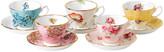 Royal Albert 100 Years Teacup & Saucer Set - 10 Piece - 1950-1990
