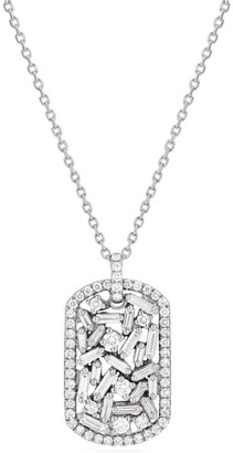 Suzanne Kalan White Gold And Diamond Fireworks Pendant Necklace
