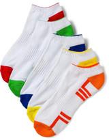 David Jones 5pk Edge Invisible Socks