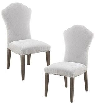Martha Stewart Tristan Parsons Chair in Light Gray