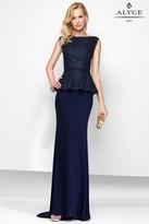 Alyce Paris Black Label - 5798 Long Dress In Navy
