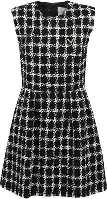 Valentino Short Tweed Dress