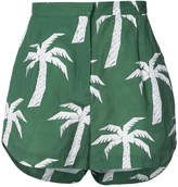 OSKLEN x Tarsila palm tree print shorts