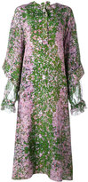 Natasha Zinko Sakura print maxi dress - women - Silk - 36
