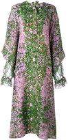 Natasha Zinko Sakura print maxi dress - women - Silk - 44