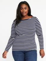 Old Navy Classic Plus-Size Boat-Neck Top