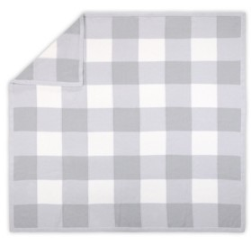 The Peanut Shell The Farmhouse Large Check Blanket Bedding