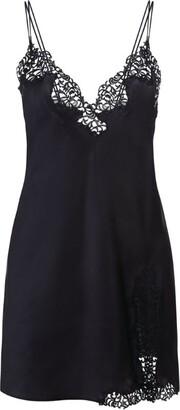 La Perla Petit Macrame Slip Dress