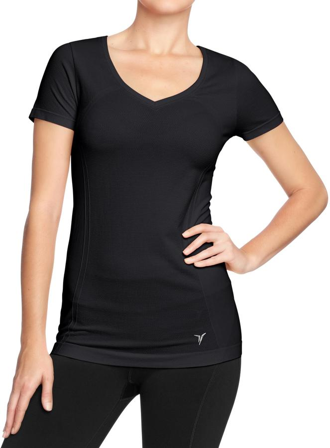 Old Navy Women's Active Seamless V-Neck Tops