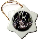 Harley-Davidson 3dRose LLC orn_145_1 Ornament Picturing Motorcycle