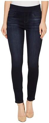 Liverpool Sienna Pull-On Ankle in Silky Soft Denim in Dynasty Dark (Dynasty Dark) Women's Jeans