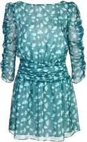 Rachel Zoe V-Neck Mini Dress