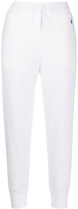 Polo Ralph Lauren cropped logo track trousers