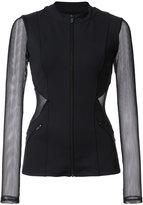 Cushnie et Ochs fitted sports jacket - women - Nylon/Spandex/Elastane - XS