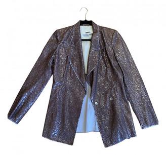 Maison Margiela Gold Glitter Jackets