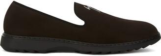 Giuseppe Zanotti Kevin suede slippers