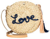 Chloé Girls' Love Straw Crossbody w/ Tassels