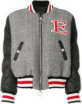 Ermanno Scervino padded check bomber jacket