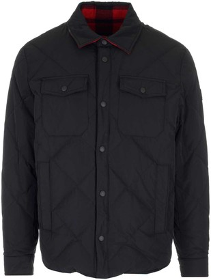 Woolrich Rowland Reversible Quilted Shirt Jacket