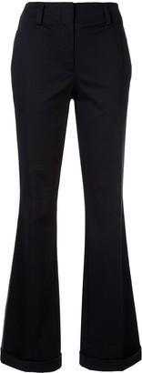 CK Calvin Klein Side Stripe Flared Trousers