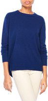 Magaschoni Cashmere Hi-Low Sweater