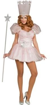 BuySeasons Women's Glinda The Good Witch Sassy Adult Costume