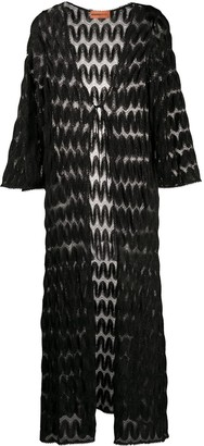 Missoni Mare Longline Open Knit Cardigan