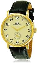 Adee Kaye Women's 42mm Leather Band Steel Case Automatic Watch Ak9061-Mg-G