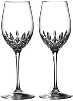 Waterford Lismore Essence Wine Glasses (Set of 2)