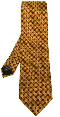 Romeo Gigli Pre-Owned checked tie