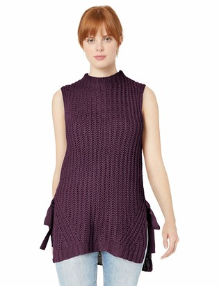 BCBGeneration Women's Sleeveless Pullover Sweater