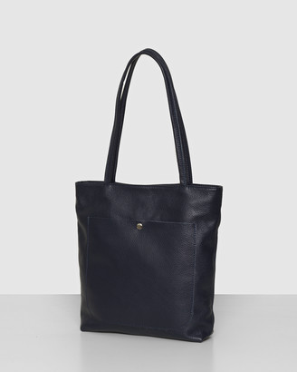 Bee The Magenta Navy Tote Bag