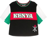 Opening Ceremony Global Varsity cropped T-shirt - Kenya