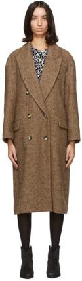 Etoile Isabel Marant Brown Ojima Coat
