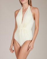 Clube Bossa Couture Plunging Swimsuit