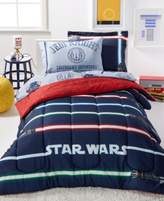 Disney Star Wars Light Saber Full 7 Piece Comforter Set