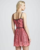 Nanette Lepore Carousel Sleeveless Lace Dress