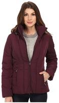 Calvin Klein Short Down Coat w/ Untrimmed Hood