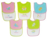 Hamco Neat Solutions Knit/Terry Embroidered Girl Sayings Bibs-10PK