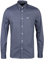 Fred Perry Classic Dark Carbon Oxford Shirt