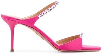 Aquazzura Diamante 75mm sandals
