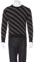 Saint Laurent Patterned Wool Sweater