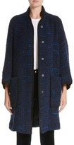 Armani Collezioni Women's Wool Blend Swing Coat