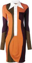 Givenchy panelled dress - women - Viscose - 36