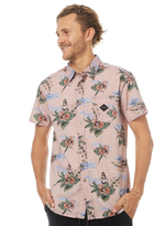 The Critical Slide Society Last Chance Ss Mens Shirt Pink
