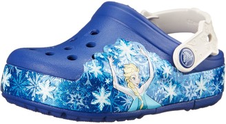 Crocs Girls' CrocsLights Frozen Clog Kids
