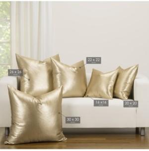 F. Scott Fitzgerald Rendezvous Golden Accent Throw Pillow