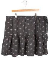 Bonpoint Girls' Floral Print Mini Skirt w/ Tags