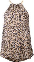 MICHAEL Michael Kors Lenus Leo blouse - women - Polyester - L